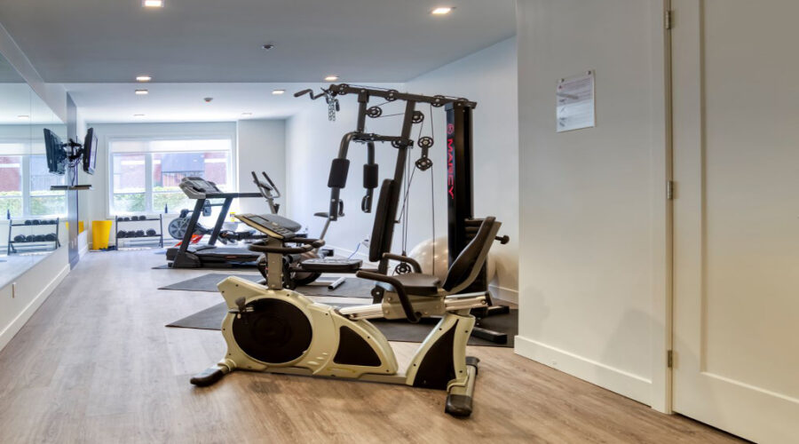 Gym - 705 Docteur-Chevrier - appartement Saint-Lambert