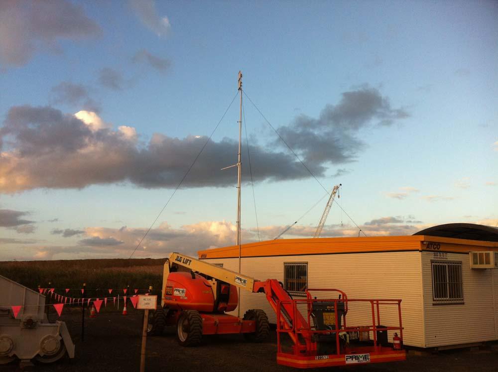 Internet Installation at Caval Ridge