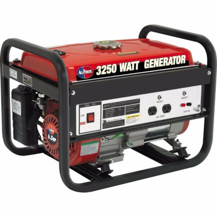 Miami Pickup All Power America APG3012 3250 Watts Gasoline Generator