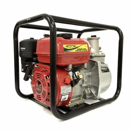 Brand New High Quality 3 in. 6.5HP Gasoline Engine Semi-Trash Water Pump