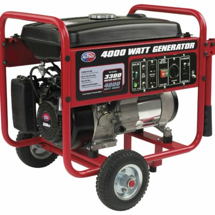 Miami Pickup All Power 4000 Watt Gasoline Generator APGG4000