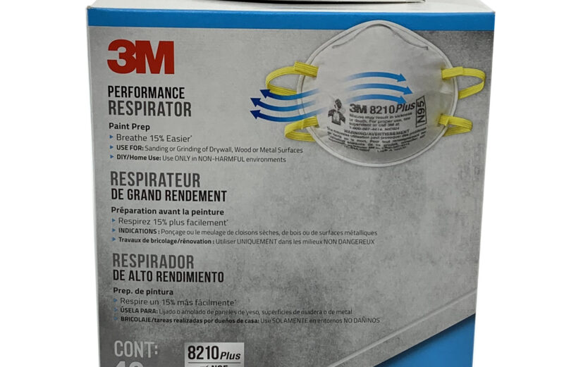 New 3M 8210 Plus N95 Respirator Mask 1 Box of 10 PCS Fast Ship