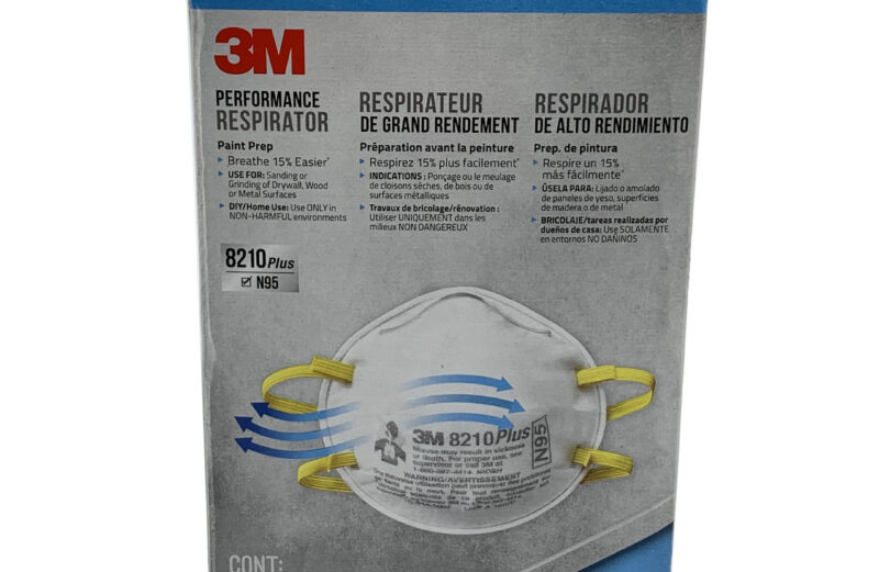 New 3M 8210 Plus N95 Respirator Mask 1 Box of 20 PCS Fast Ship