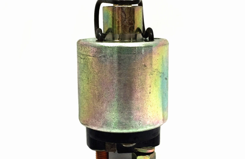 Electric Starter Motor Solenoid For Yanmar L40 L48 L60 L70 L75 L90 L100 Engines