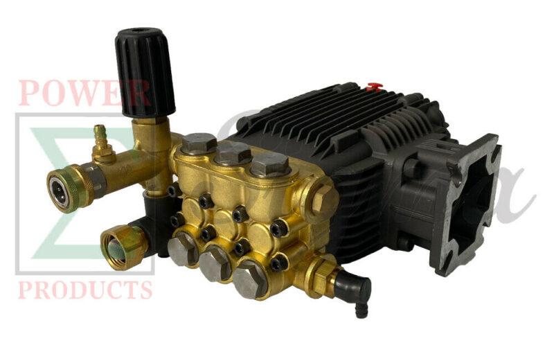 Triplex High Pressure Power Washer Pump 3.1 GPM 3000 psi 6.5 HP 3/4″ Shaft For CAT General AR Comet Replaces Mi-T-M 3-0414 3-0297 3-0413