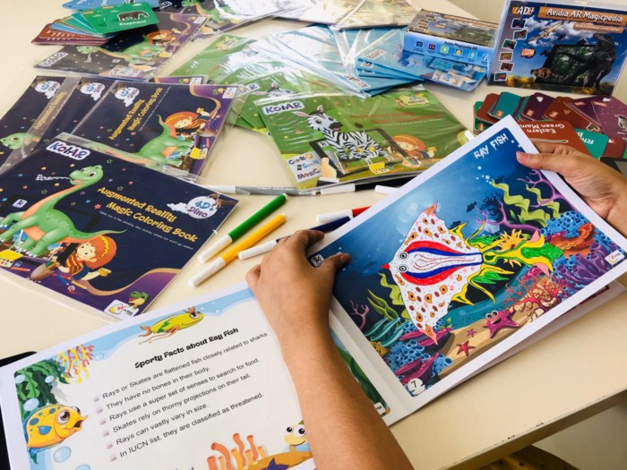Coloring Book: Augmented Reality