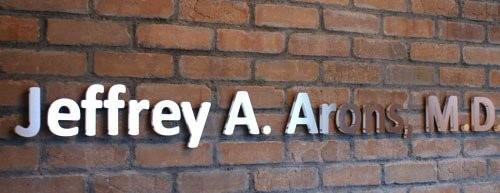 Jeffrey A. Arons , M.D. Sign
