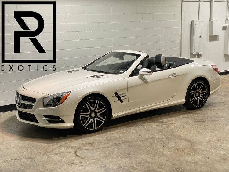 2015 Mercedes-Benz SL5550 White Arrow