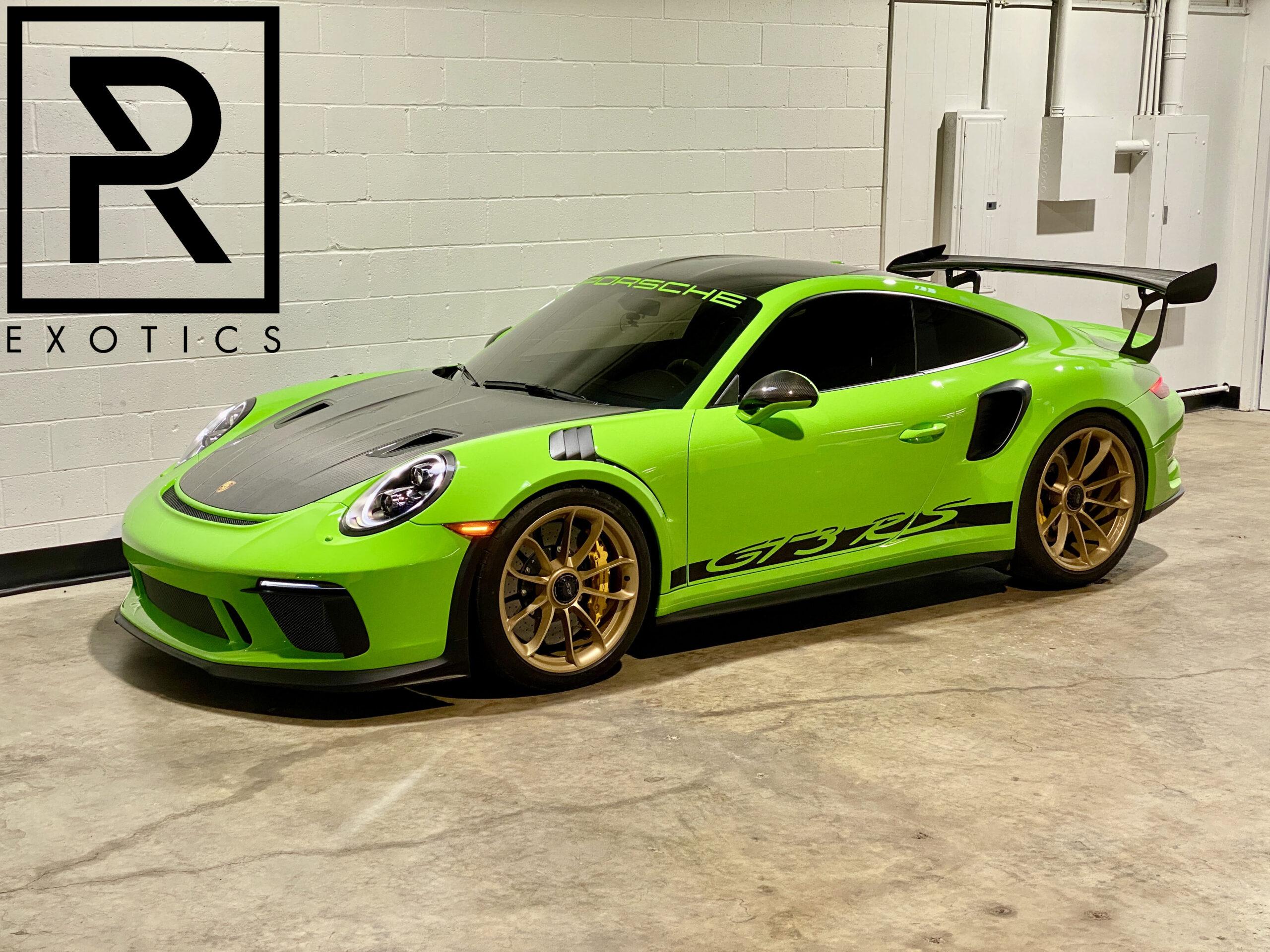 2019 Porsche 911 GT3RS thumbnail