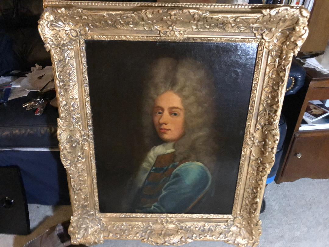 30×24 French Nicolas de Largilliere Oil Painting