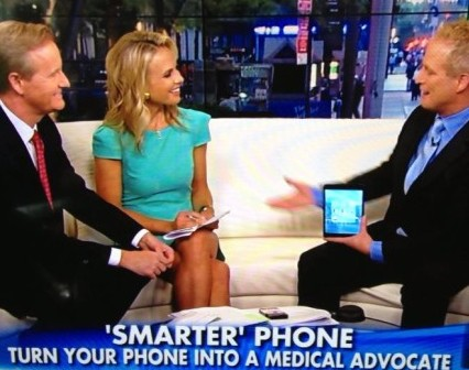 Turn Your Phone into Medical Advocate (Fox & Friends)