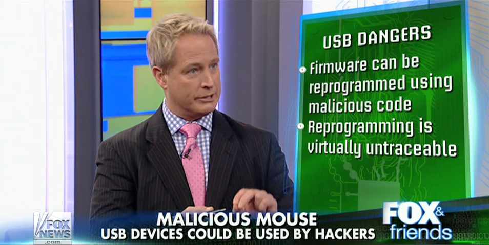 Is your USB device a security threat? (Fox & Friends)