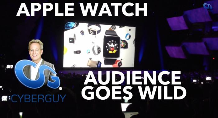 Apple Watch and Kurt CyberGuy Knutsson