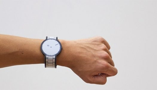 Sony's Secret Paper Digital Watch