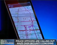 Police Upset with Waze App-Kurt CyberGuy Knutsson