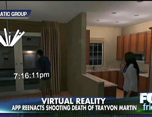 Virtual reality app reenacts Trayvon Martin shooting