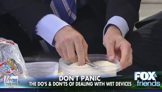 How to Save your Soaked Smartphone