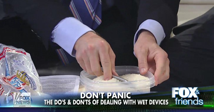 How To Save Your Soaked Iphone