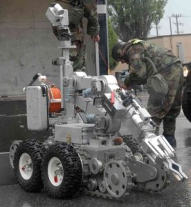 Remotec Andros Rons Robot