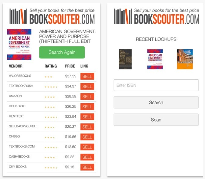 BookScouter App