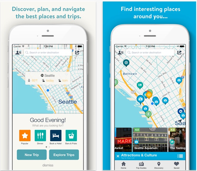 Top 3 Road Trip Apps for your Ride - Roadtrippers Road Trip Planner Map Travel Guides On The App Store