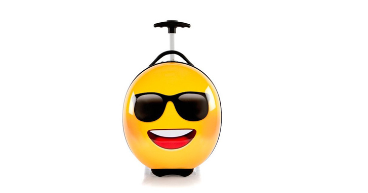 Best New Travel Bag Winners: Heys America Emoticon Sunglasses Kids Luggage