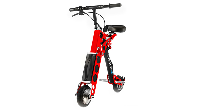URB E Black Label Electric Folding Scooter Red