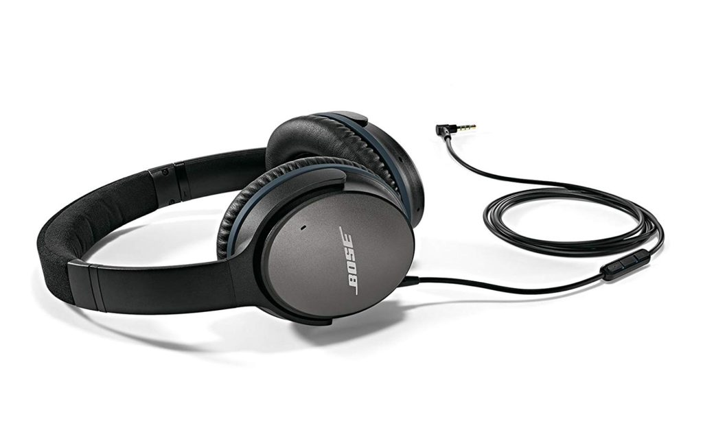 Bose QuietComfort 25 Acoustic Noise Cancelling Headphones For Apple Devices Black Wired, 3.5mm