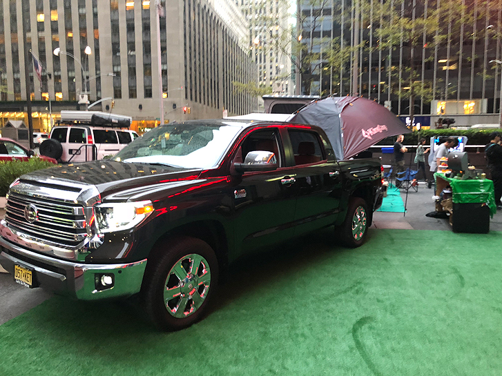 How To Tech Your Tailgate Party Just Right: Toyota Tundra