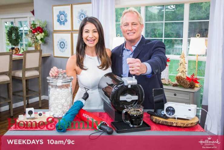 Kurt the CyberGuy on Home & Family show with the 2019 Holiday Tech Gift preview.