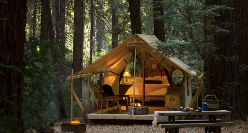 Glamping in Big Sur, CA