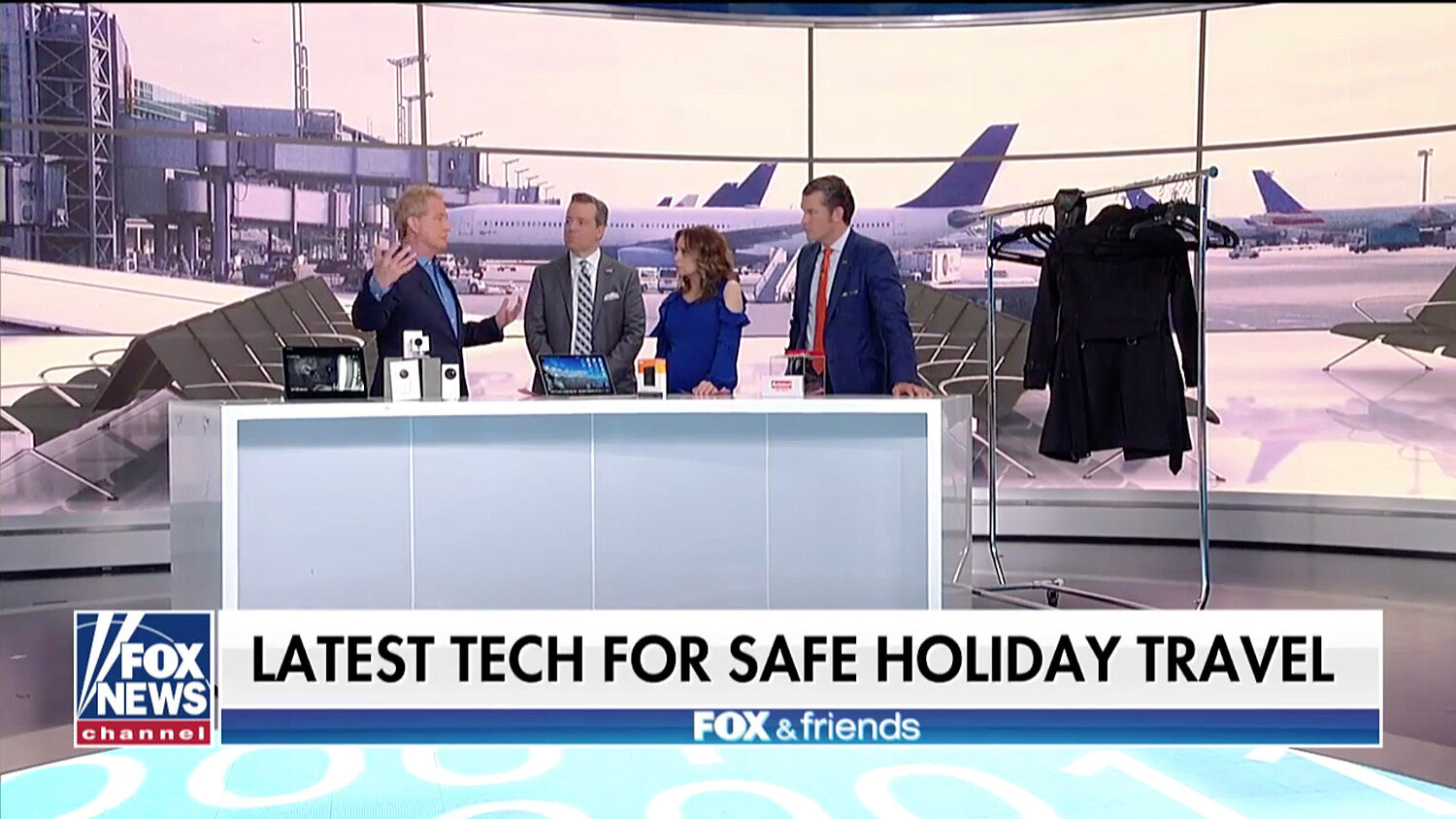 How to make your holiday travels safer with tech