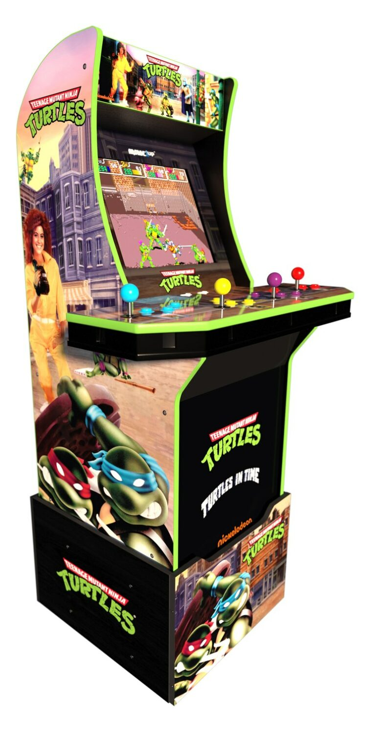 See What Games Made the Holiday Hit Gift List: Arcade1UP 4 foot Retro Gaming Consoles