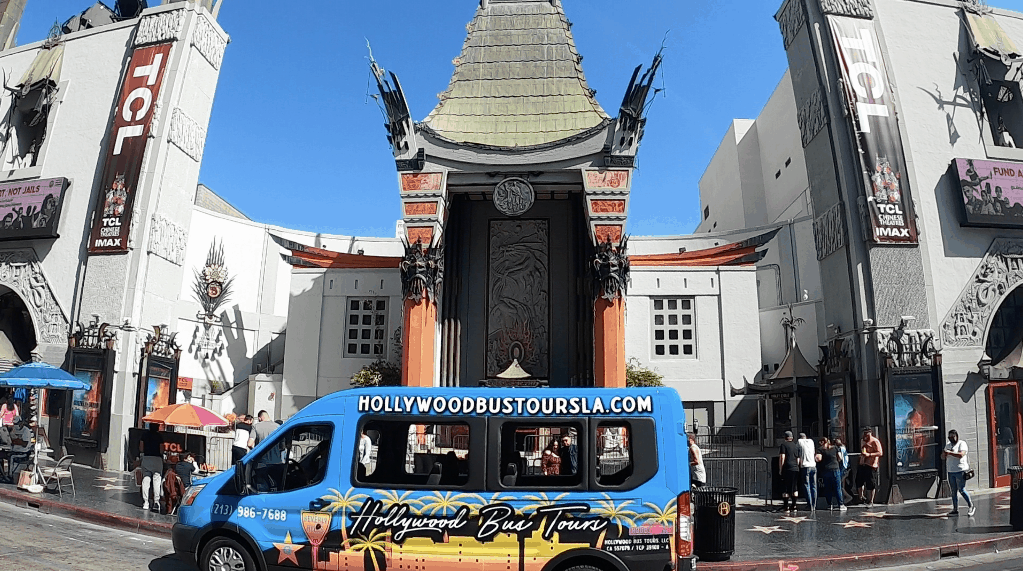 Hollywood Bus Tours - Chinese Theater