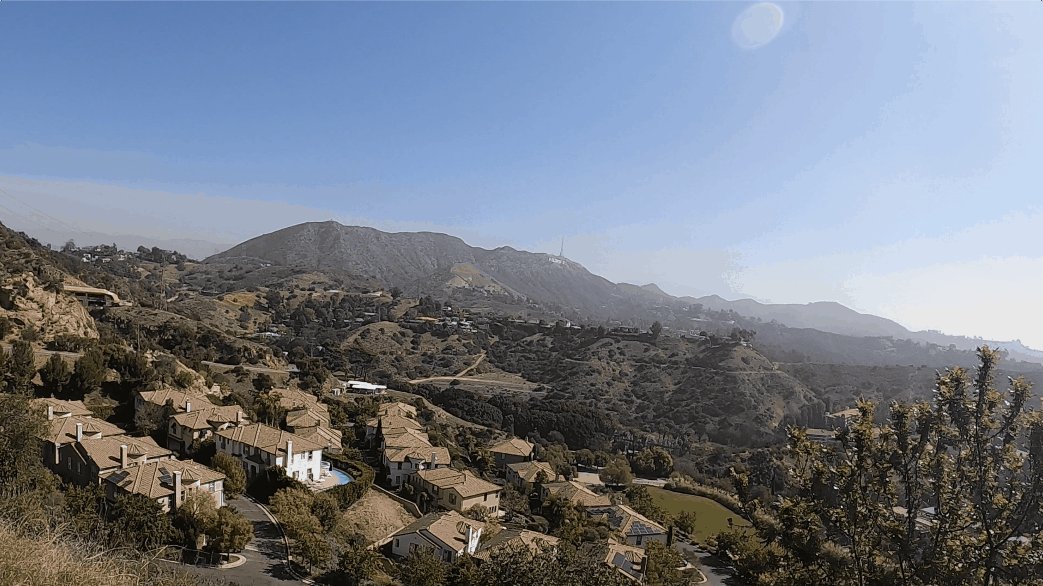Hollywood Bus Tours - Hollywood Hills