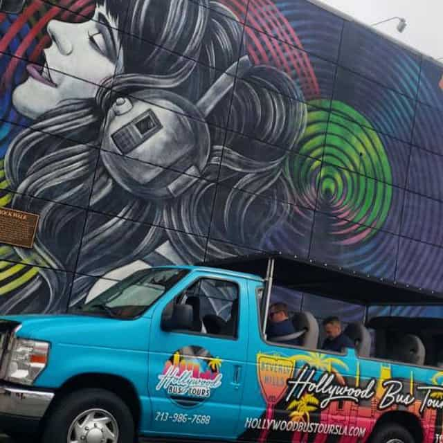 Hollywood Bus Tours - Los Angeles Mural