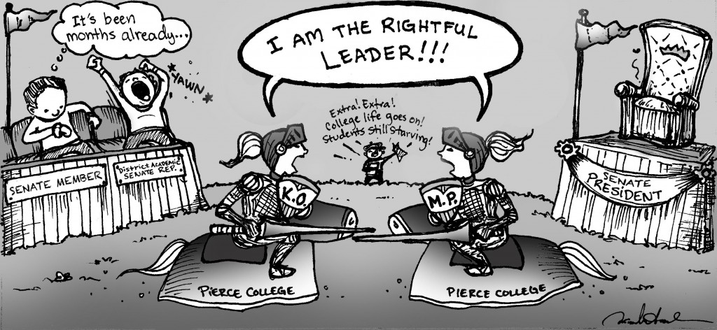 I am the rightful leader!