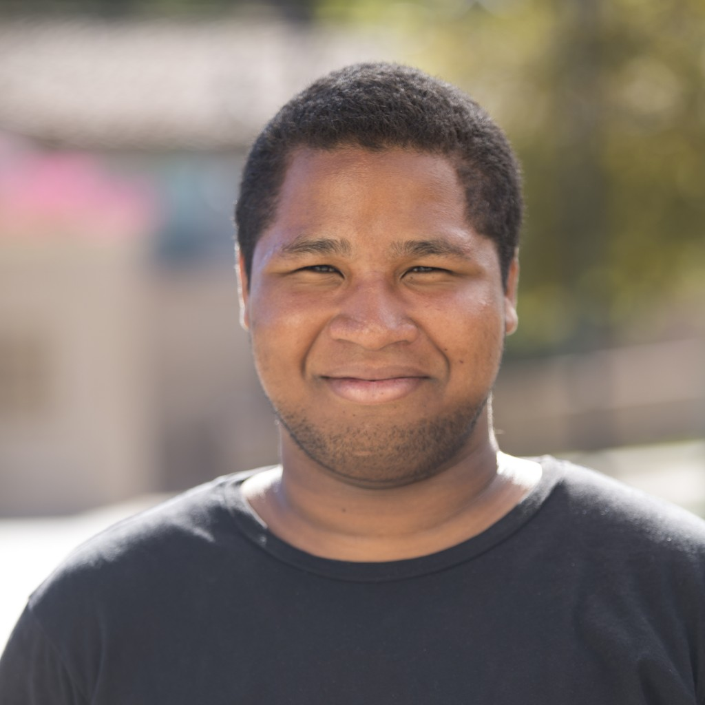 Michael McGee is the new treasurer of  Associated Students Organisation president at Pierce College in Woodland Hills Calif., Oct. 6,2014. Photo: Diego Barajas