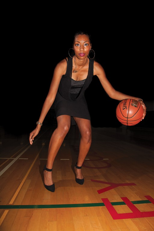 Coming from a basketball oriented family, Britney Henderson accomplished a successful time playing for the Brahmas during the 2006-2007 season. Henderson will be inducted into the Pierce Hall of Fame on May 26. Photo: Mohammad Djauhari