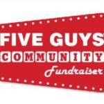 Five Guys Burgers Fundraiser