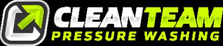 clean team pressure washing logo