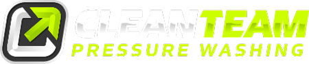 clean team pressure washing logo