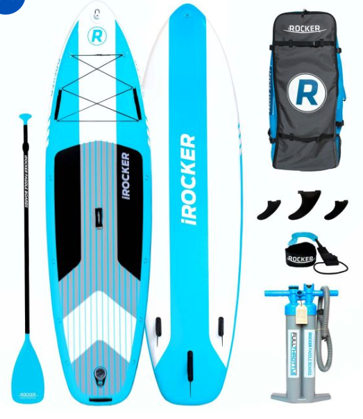 irocker cruiser sup review 10'6""