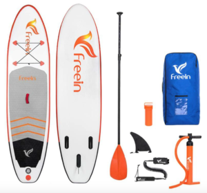 freein 10 foot paddle board SUP review
