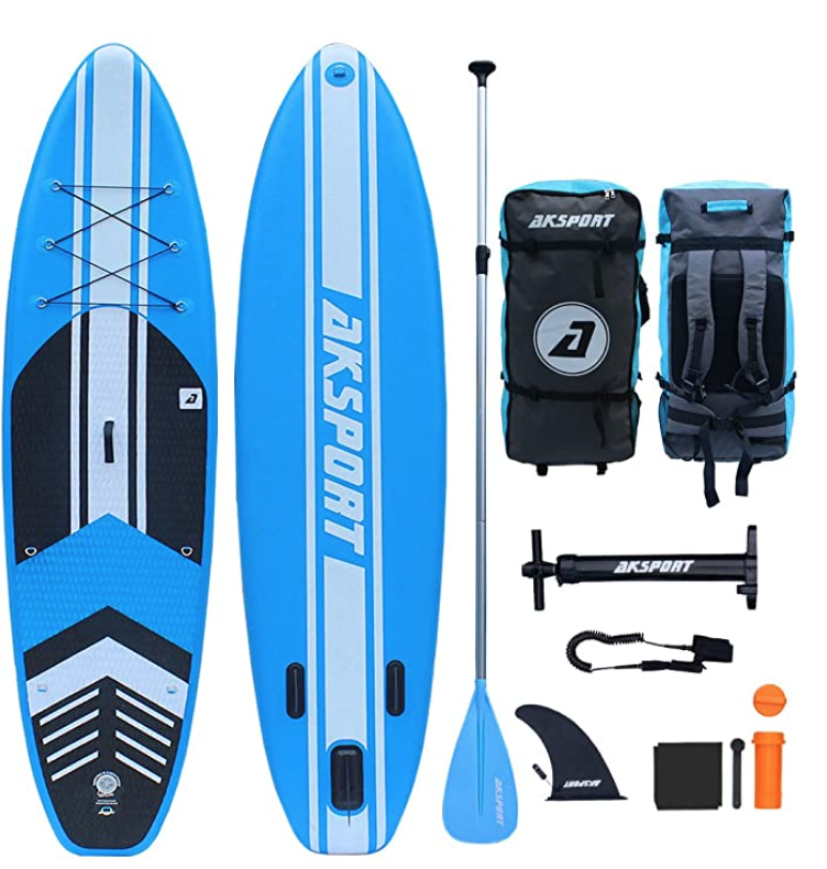 aksport 10 foot 6 inch paddle board review