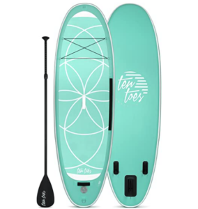 Retrospec Weekender-Yogi 10' Extra Wide Inflatable Stand Up Paddleboard