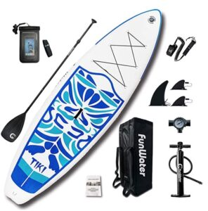 funwater 10 foot paddle board