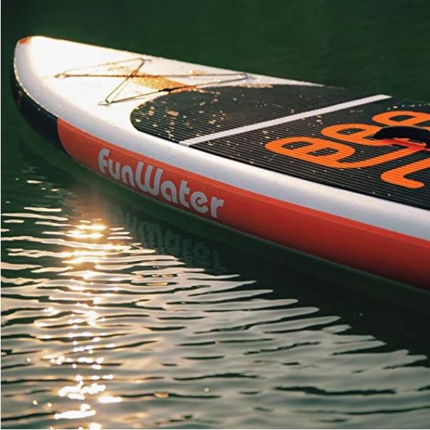 funwater paddle board review 11 foot length