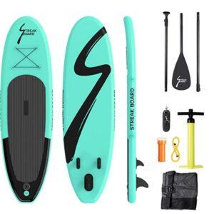 streak paddle board review