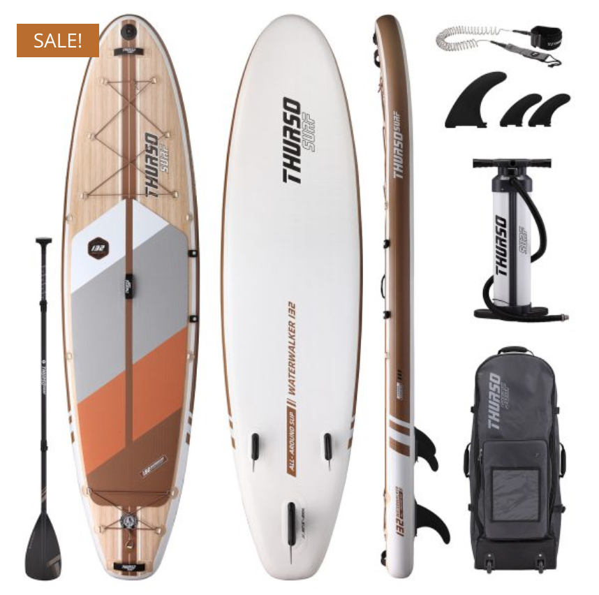 thurso surf waterwalker paddle board review